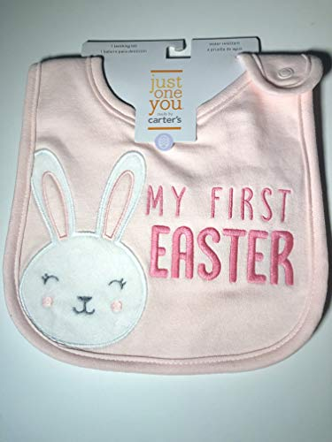 - Baby My First Easter Teething Bib with Snap Closure