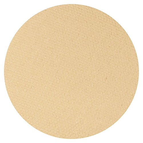 Peach Vanilla Matte Cream Eyeshadow Single Eye Shadow Makeup Magnetic Refill Pan 26mm, Paraben Free, Gluten Free, Made in the USA