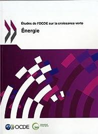 Études de l'OCDE sur la croissance verte par  OCDE