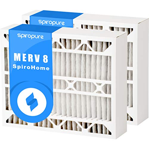 Replacement Rodgers 8 Filter White - 20x25x4 MERV 8 White-Rodgers FR2000M-108 Aftermarket Filters (2 Pack)