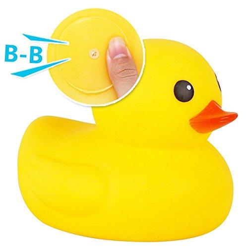 XDOBO flotador & Squeak goma Funny Super gran madre pato y bebé pato - Juguete de baño (Pack de 2): Amazon.es: Juguetes y juegos