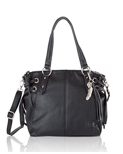 jessica-simpson-womens-juliette-faux-leather-satchel-handbag-black-medium
