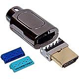 Lindy Connecteur HDMI DIY avec guide fils