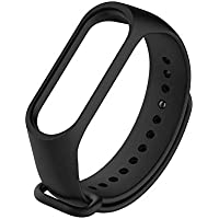 Bracelet silicone for XIAOMI 3 & XIAOMI 4 Watch Band Black Color