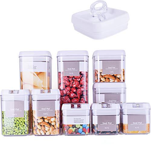 9 Piece Airtight Food Storage Co...