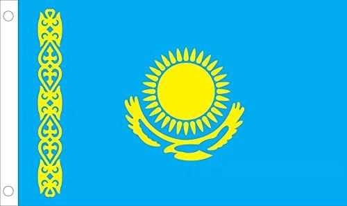 Kazakhstan Flag 3ftx5ft Polyester
