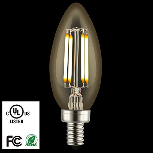 led candelabra bulbs leto candelabra led bulbs dimmable 4w ul listed 40w light 3702