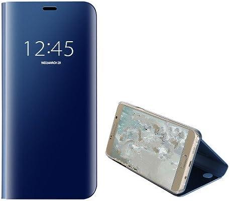 Funda® Espejo Enchapado Flip Xiaomi Mi 8 (Cielo Azul): Amazon.es ...