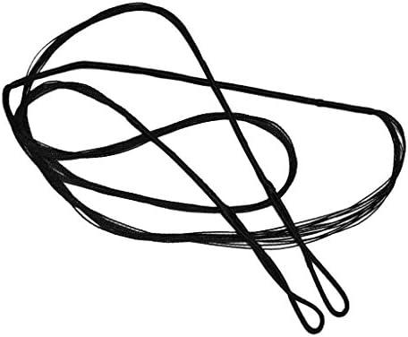 Noir CUTICATE Nouvelle Corde De Remplacement pour La Chasse Au Tir /à larc pour Un Arc Classique