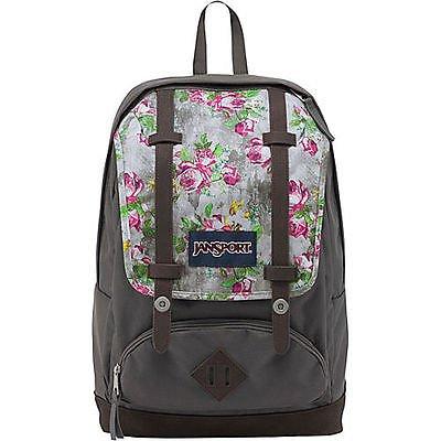 JanSport Unisex Cortlandt Backpack Multi Concrete Floral One Size
