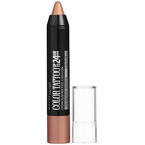 Maybelline New York Eyestudio ColorTattoo Concentrated Crayon,725 Bronze Truffle, 0.08 oz.