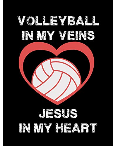Pdf Outdoors Volleyball In My Veins, Jesus In My Heart: Notebook