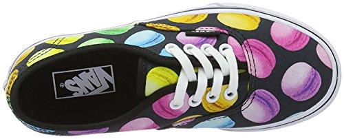 Vans Authentic - Zapatillas Unisex Niños Negro / Multicolor