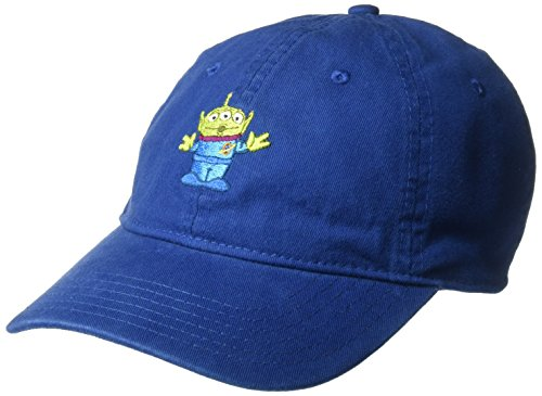 Disney Men's Toy Story Alien Baseball Cap, Adjustable, Cobalt, One Size (Toy Hat Disney Story)