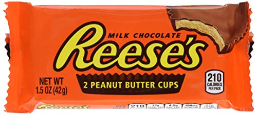 (Reese's Peanut Butter Cups Candy, Chocolate 1.5-Ounce Packages (Pack of)