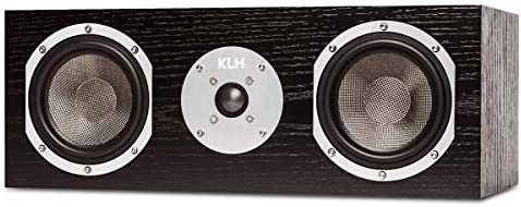 KLH Story Center Channel Speaker Black Oak