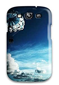 Durable Protector Case Cover With Sky Parachuting Hot Design For Galaxy S3