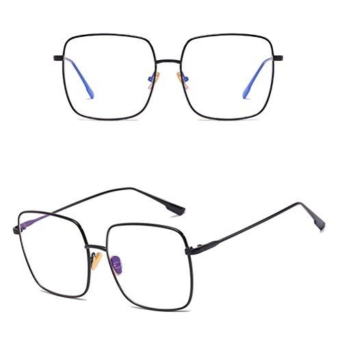 Femme Zhhlaixing Protective Homme Classic Retro gray Glasses with pour Sunglasses et amp; de Safety UV400 Case lunettes Soleil Metal Xr6Xxp