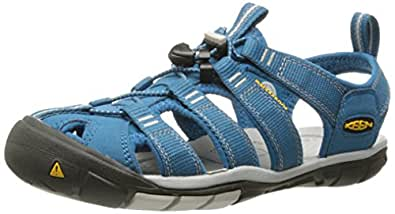 KEEN Women's Clearwater CNX Athletic and Outdoor Sandals, Blue (Celestial/Vapor), 6 AU/US