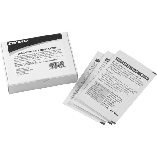DYMO Cleaning Card for LabelWriter Label Printers, 10-Pack (60622)