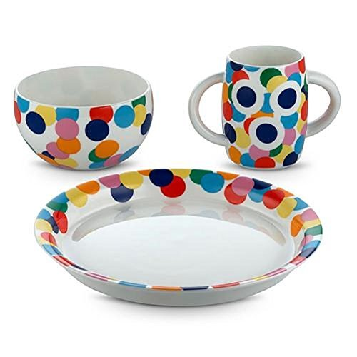 Alessi Alessini Proust 3 Piece Child's Dinnerware Set by Alessandro ()