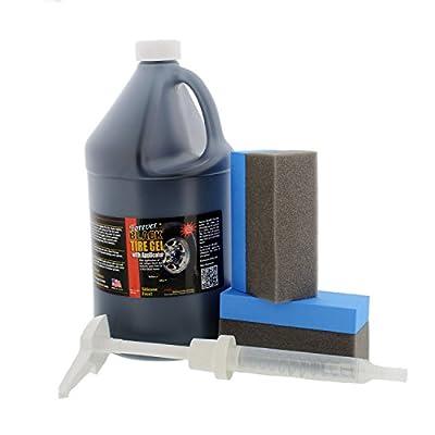 128oz. Forever Black Tire Gel Dye: Automotive