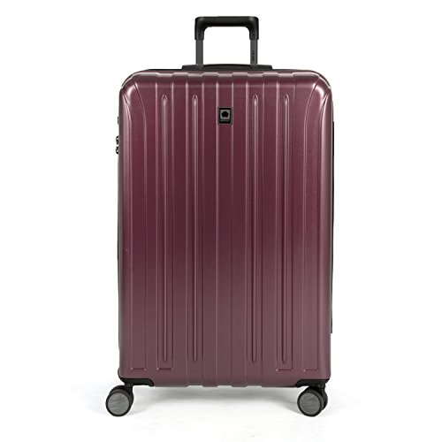 DELSEY Paris Luggage Helium Titanium 29' Exp. Spinner Trolley, Purple