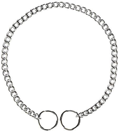 Hamilton Fine Choke Chain Dog Collar, 16-Inch