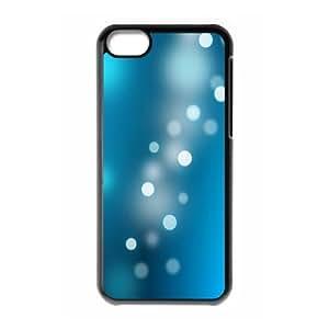 XiFu*Meiiphone 6 4.7 inch Case,Abstract Circle Neon Light Bokeh Hard Shell Back Case for Black iphone 6 4.7 inch Okaycosama356024XiFu*Mei