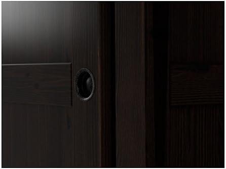 Ikea 826.1758.306 - Armario con 2 Puertas correderas, Color Negro y marrón: Amazon.es: Juguetes y juegos