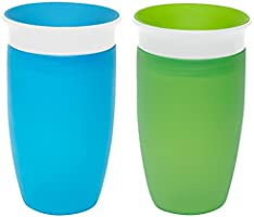 Munchkin Miracle 360 Sippy Cup, 10 Ounce, 2 Count