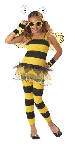 California Costumes Toys Little Honey, (Little Honey Bee Girls Costumes)