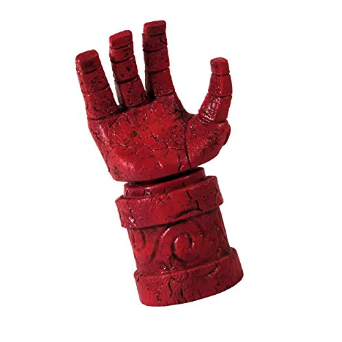 Hellboy Cosplay,Hellboy 3 (2019) Cosplay Gloved Hand Paw Claw,Right Hand Glove Latex Halloween Cosplay Costume Props