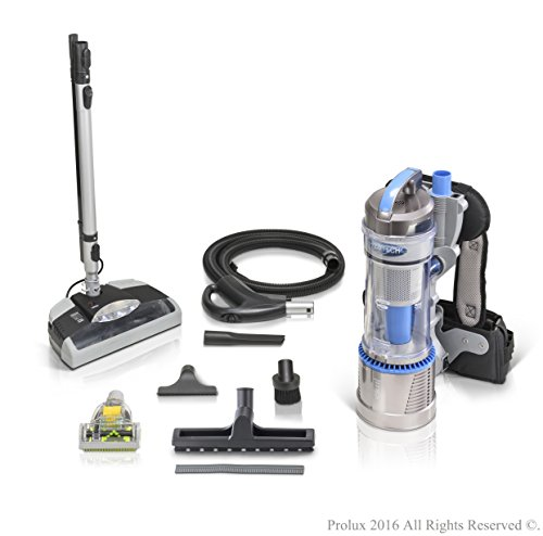 Demo Model 2018 Prolux 2.0 Bagless Backpack Vacuum with Electric Power Nozzle for Carpet (Bagless Valve)