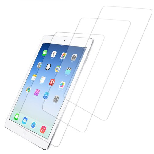HDE [3-Pack] Screen Protectors for iPad 9.7