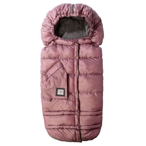 7A.M. ENFANT BLANKET 212 evolution stroller foot muff Metalic Lilac by Unknown