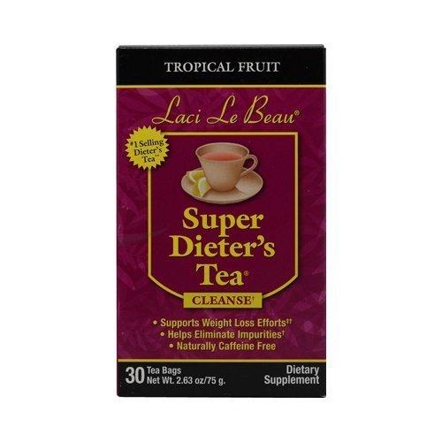 LACI LE BEAU SUPER DIET TEA,TROP FRUIT, 30 BAG