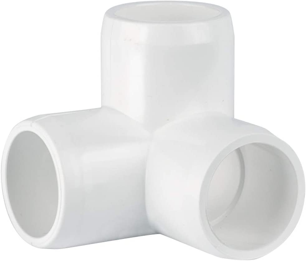 "CIRCOPACK 1"" 3-way PVC Fittings Furniture Grade (2 pieces)"