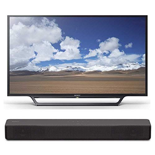 - Sony KDL32W600D 32-Inch HD Smart TV S200F 2.1ch Soundbar with Built-in subwoofer (HT-S200F)