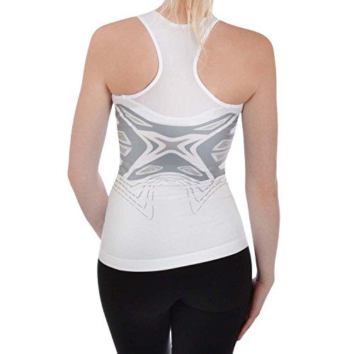 adidas Performance Womens Powerweb Basketball Vest Top - White - 12