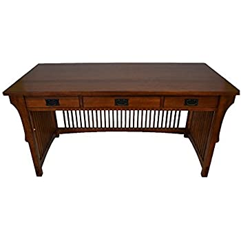 Super Crafters And Weavers Mission Solid Oak Library Table With 3 Drawers Download Free Architecture Designs Scobabritishbridgeorg