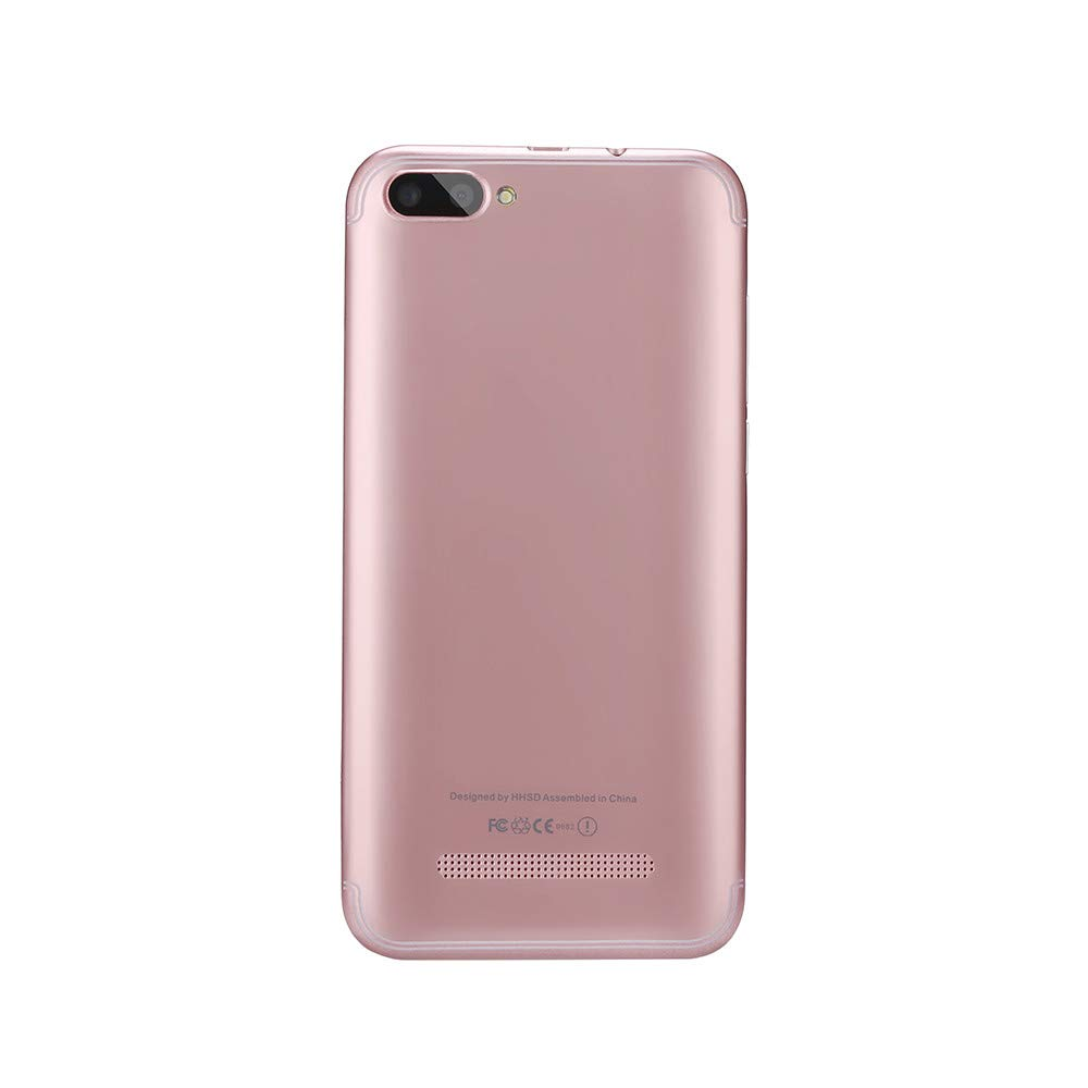 Unlocked Smartphone Cellphone, 5.7 inch Dual SIM Dual HD Camera Cell Phone Android 5.1 256M+512M GPS 3G Mobile Phone (Rose Gold, P113) by Aritone (Image #5)