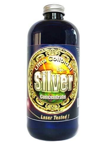 Colloidal Silver Solution, 50 PPM, 16 oz. by Silver Mountain Minerals, (Medical Purity Silver, Most Bioavailable colloidally Suspended Nano Particles).