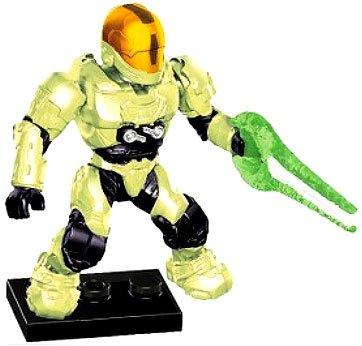 Halo Wars Mega Bloks LOOSE Mini Figure Infected UNSC Spartan EVA with Energy Sword