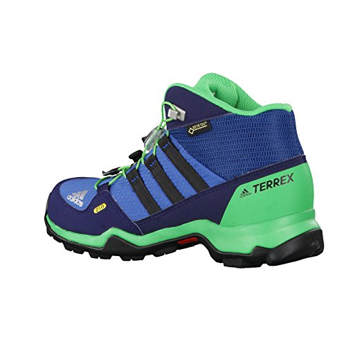 adidas Terrex Mid Gtx, Zapatos de Low Rise Senderismo Unisex Niños Azul (Core Blue/core Black/energy Green)