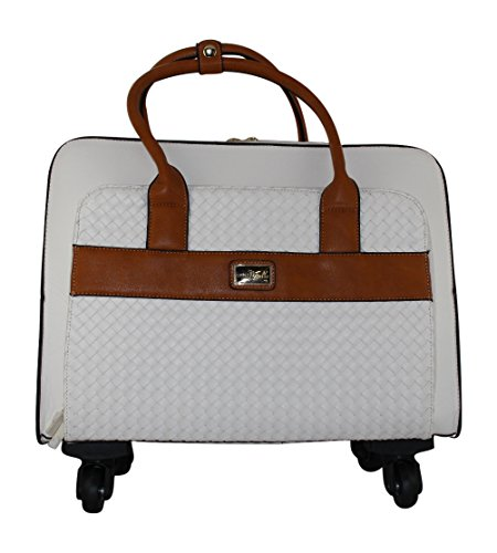 Simply Noelle Company Retreat Travel Roller Bag (White) by Simply Noelle