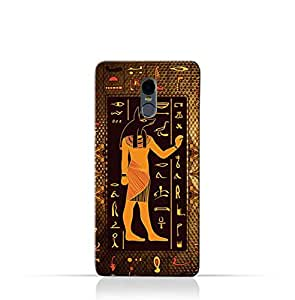 Lava A3 TPU Silicone Case with Egyptian Hieroglyphs Pattern