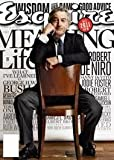 2011 Robert De Niro Esquire magazine