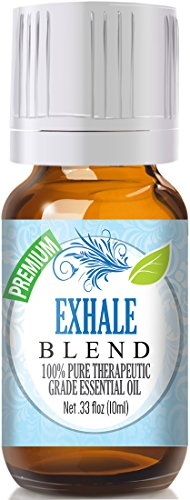 Exhale Blend 100% Pure, Best Therapeutic Grade Essential Oil