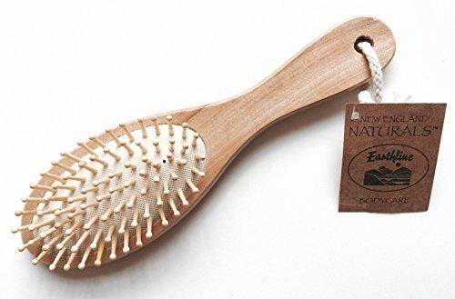 Wooden Massage Hair Brush 1 Brush (Best Asmr Massage Videos)